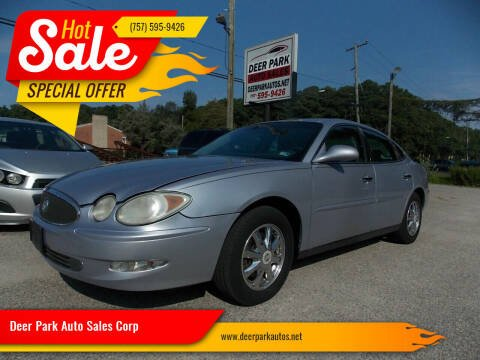 2005 Buick LaCrosse for sale at Deer Park Auto Sales Corp in Newport News VA