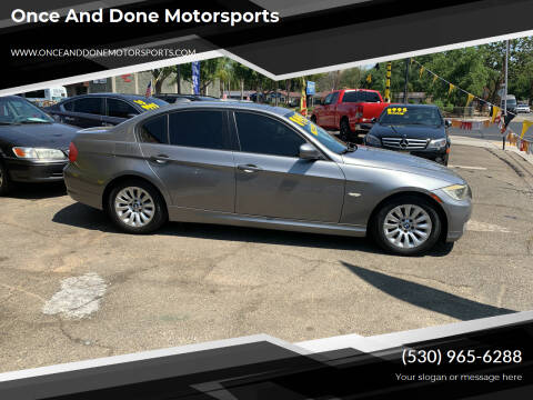 2009 BMW 3 Series for sale at Once and Done Motorsports in Chico CA