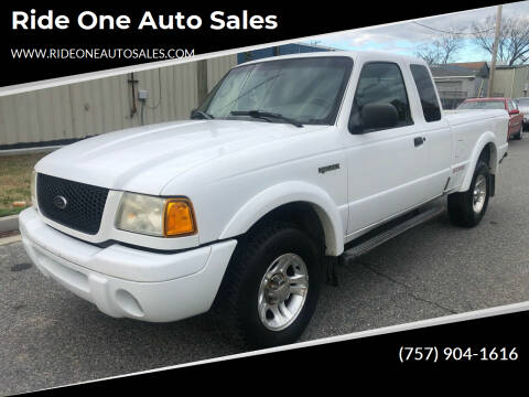 2003 Ford Ranger for sale at Ride One Auto Sales in Norfolk VA