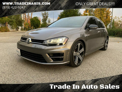 2016 Volkswagen Golf R for sale at Trade In Auto Sales in Van Nuys CA