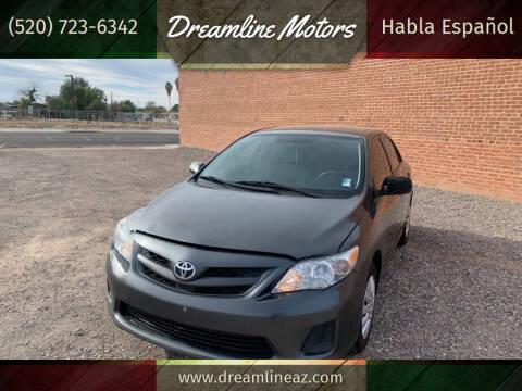2013 Toyota Corolla for sale at Dreamline Motors in Coolidge AZ