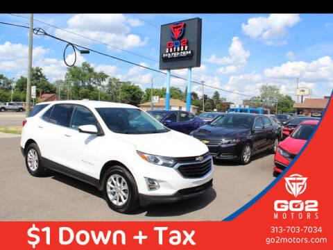 2020 Chevrolet Equinox for sale at Go2Motors in Redford MI