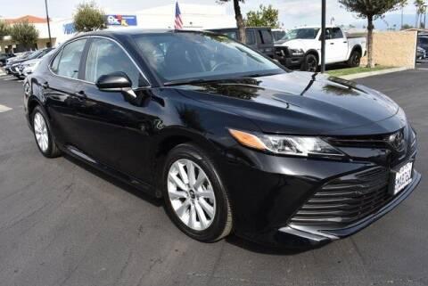 2020 Toyota Camry for sale at DIAMOND VALLEY HONDA in Hemet CA