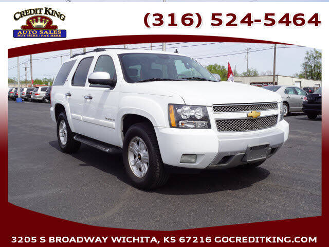 2008 Chevrolet Tahoe for sale at Credit King Auto Sales in Wichita KS