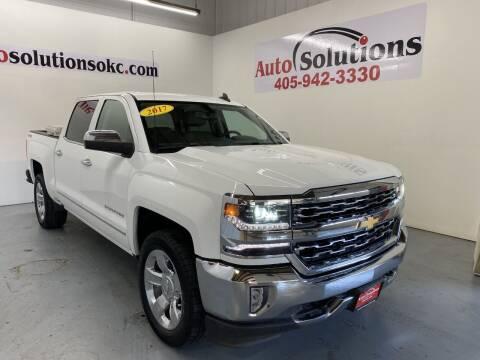 2017 Chevrolet Silverado 1500 for sale at Auto Solutions in Warr Acres OK