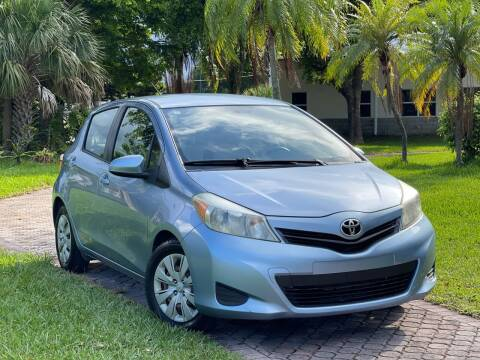 2012 Toyota Yaris for sale at Citywide Auto Group LLC in Pompano Beach FL