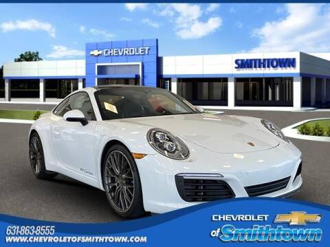 2017 Porsche 911 for sale at CHEVROLET OF SMITHTOWN in Saint James NY