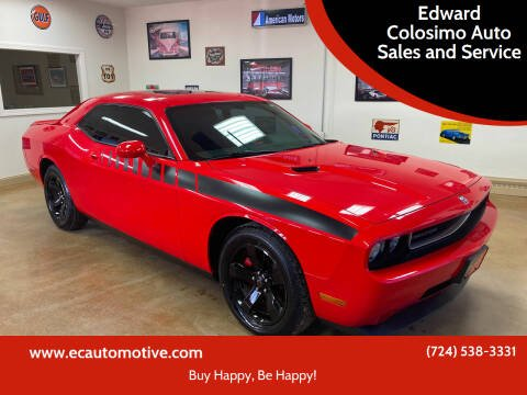 2009 Dodge Challenger for sale at Edward Colosimo Auto Sales and Service in Evans City PA