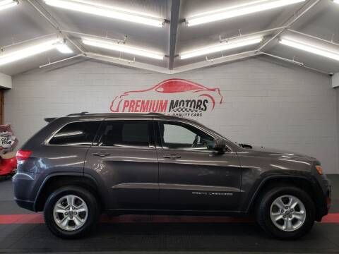 2014 Jeep Grand Cherokee for sale at Premium Motors in Villa Park IL