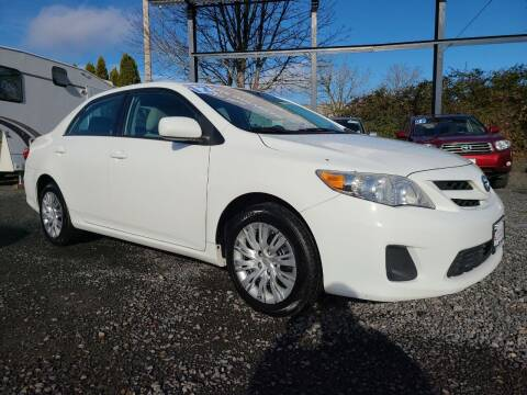 2012 Toyota Corolla for sale at Universal Auto Sales in Salem OR