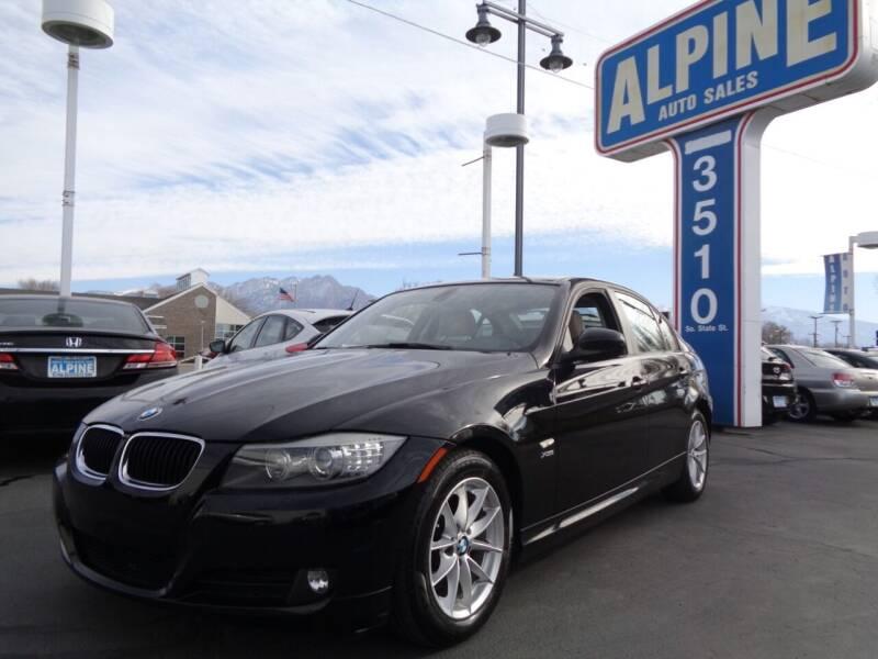 2010 BMW 3 Series for sale at Alpine Auto Sales in Salt Lake City UT
