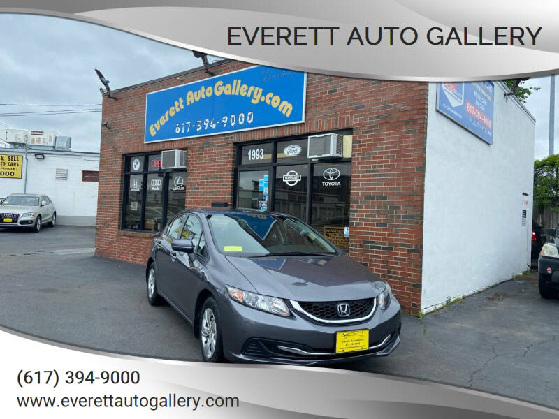 2014 Honda Civic for sale at Everett Auto Gallery in Everett MA