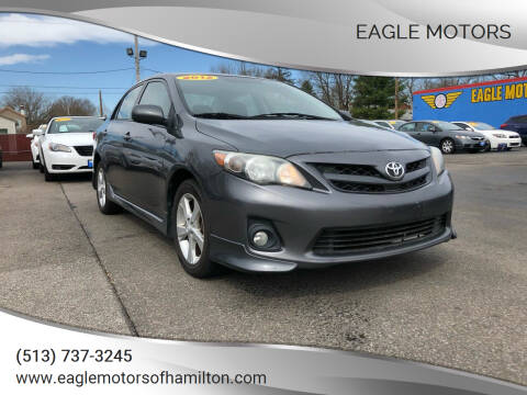 2012 Toyota Corolla for sale at Eagle Motors in Hamilton OH