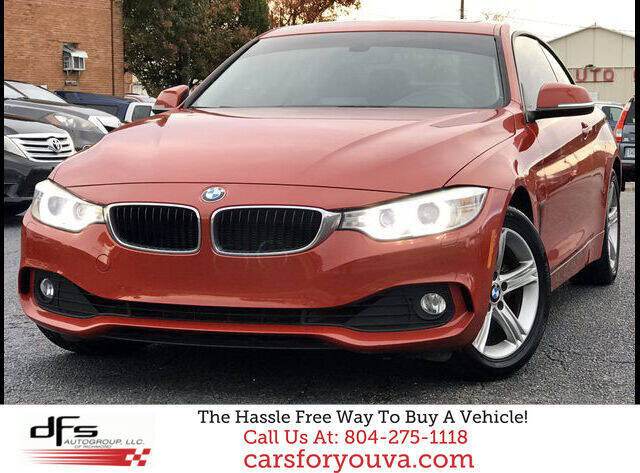 2014 BMW 4 Series for sale at DFS Auto Group of Richmond in Richmond VA