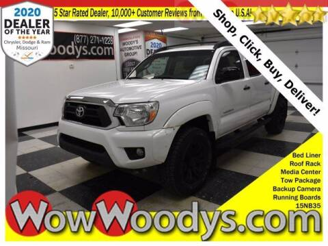 2015 Toyota Tacoma for sale at WOODY'S AUTOMOTIVE GROUP in Chillicothe MO