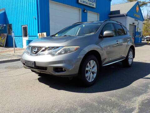 2012 Nissan Murano for sale at RTE 123 Village Auto Sales Inc. in Attleboro MA