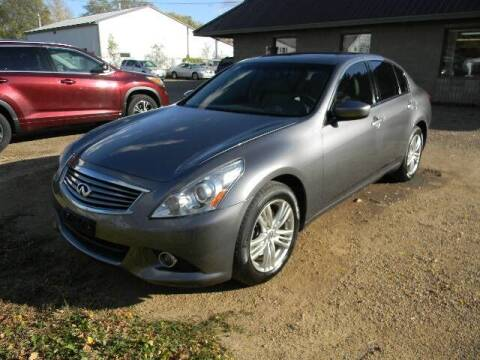 2012 Infiniti G37 Sedan for sale at Northwest Auto Sales in Farmington MN