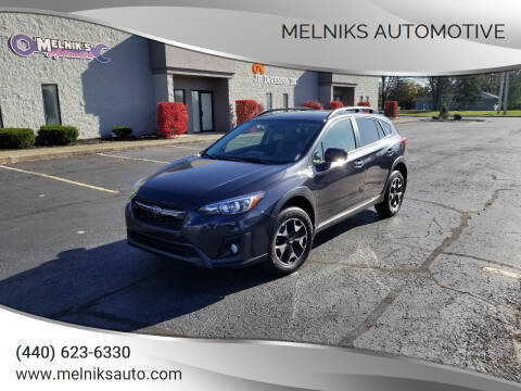 2019 Subaru Crosstrek for sale at Melniks Automotive in Berea OH