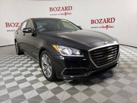 2019 Genesis G80 for sale at BOZARD FORD in Saint Augustine FL