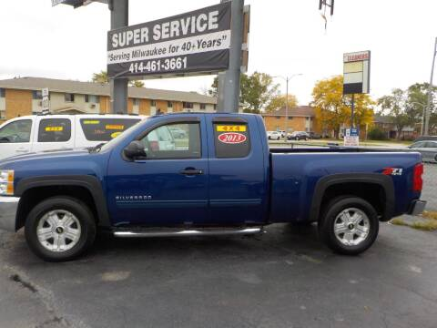 2013 Chevrolet Silverado 1500 for sale at Super Service Used Cars in Milwaukee WI