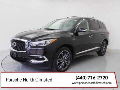 2017 Infiniti QX60 for sale at Porsche North Olmsted in North Olmsted OH