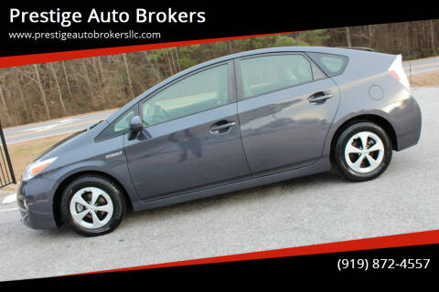 2012 Toyota Prius for sale at Prestige Auto Brokers in Raleigh NC