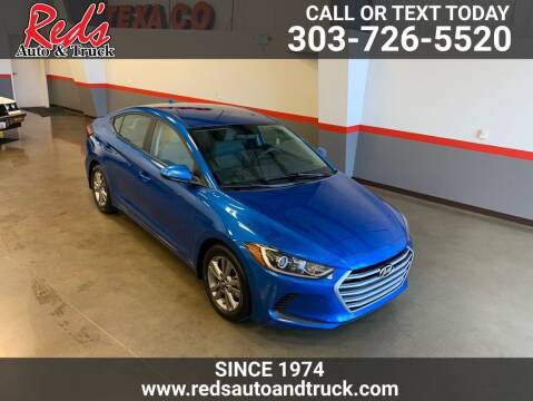 2017 Hyundai Elantra for sale at Red's Auto and Truck in Longmont CO
