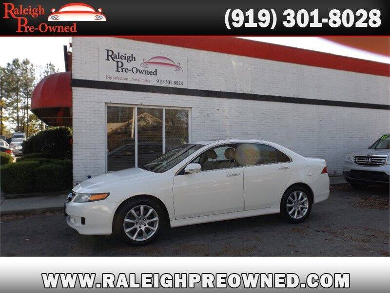 2008 Acura TSX for sale at Raleigh Pre-Owned in Raleigh NC