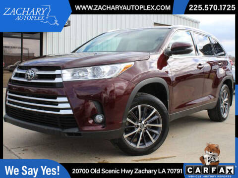 2019 Toyota Highlander for sale at Auto Group South in Natchez MS