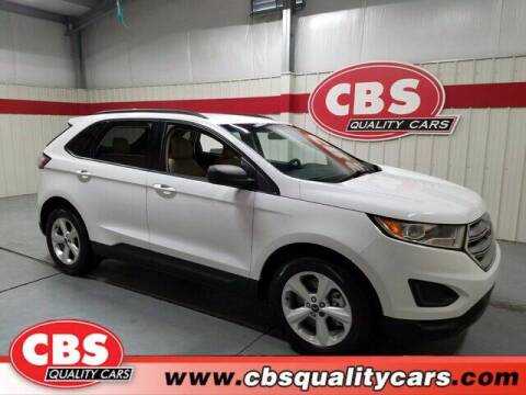 2018 Ford Edge for sale at CBS Quality Cars in Durham NC
