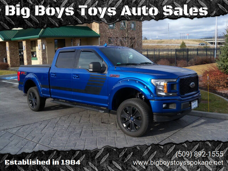 2018 Ford F-150 for sale at Big Boys Toys Auto Sales in Spokane Valley WA