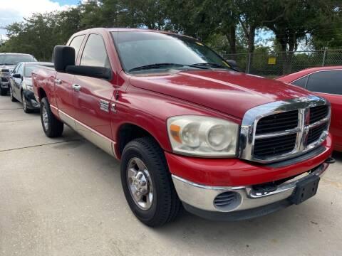 2008 Dodge Ram Pickup 3500 for sale at MIAMI FINE CARS & TRUCKS in Hialeah FL