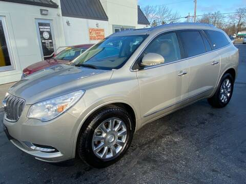 2013 Buick Enclave for sale at Huggins Auto Sales in Ottawa OH