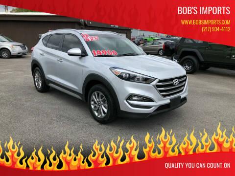 2018 Hyundai Tucson for sale at Bob's Imports in Clinton IL
