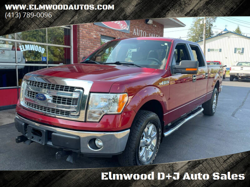 2013 Ford F-150 for sale at Elmwood D+J Auto Sales in Agawam MA