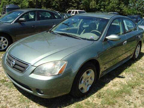 2003 Nissan Altima for sale at Branch Avenue Auto Auction in Clinton MD
