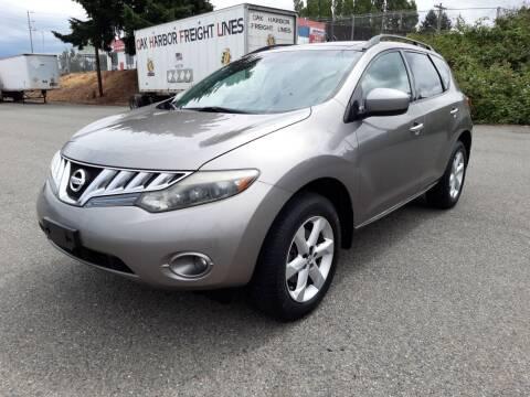 2009 Nissan Murano for sale at South Tacoma Motors Inc in Tacoma WA