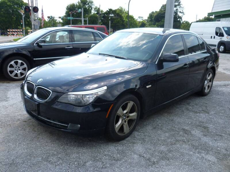 2008 BMW 5 Series for sale at Auto Outlet Inc. in Houston TX
