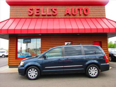 2014 Chrysler Town and Country for sale at Sells Auto INC in Saint Cloud MN