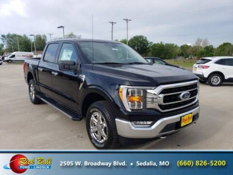 2021 Ford F-150 for sale at RICK BALL FORD in Sedalia MO