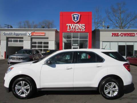 2015 Chevrolet Equinox for sale at Twins Auto Sales Inc in Detroit MI