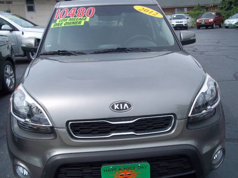 2012 Kia Soul for sale at JIMS AUTO MART INC in Milwaukee WI