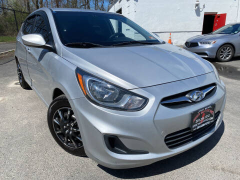 2012 Hyundai Accent for sale at JerseyMotorsInc.com in Teterboro NJ