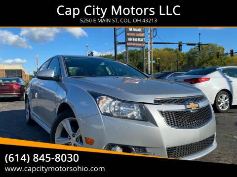 2014 Chevrolet Cruze for sale at Cap City Motors LLC in Columbus OH