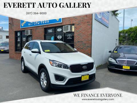2016 Kia Sorento for sale at Everett Auto Gallery in Everett MA