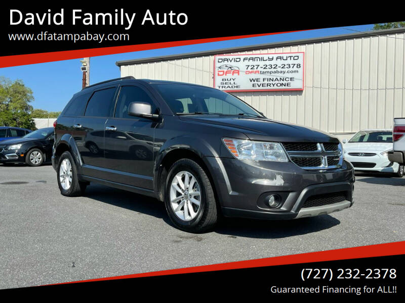 2017 Dodge Journey for sale at David Family Auto in New Port Richey FL