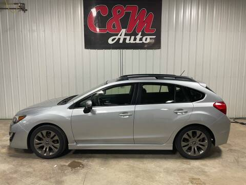 2015 Subaru Impreza for sale at C&M Auto in Worthing SD
