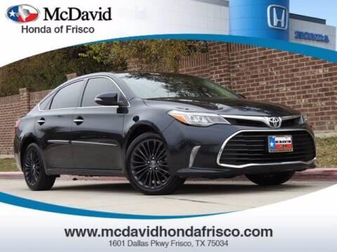 2016 Toyota Avalon for sale at DAVID McDAVID HONDA OF IRVING in Irving TX