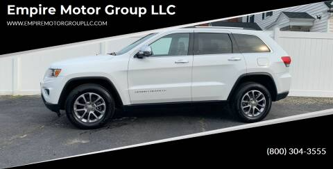 2015 Jeep Grand Cherokee for sale at Empire Motor Group LLC in Plaistow NH