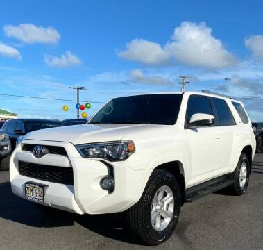2016 Toyota 4Runner for sale at PONO'S USED CARS in Hilo HI